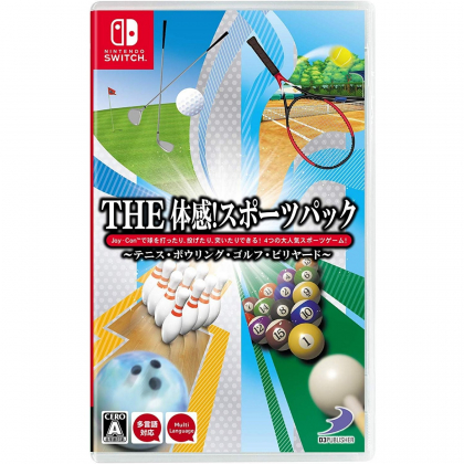D3 Publisher THE Taikan ! Sports Pack Tennis, Bowling, Golf, Billiard NINTENDO SWITCH