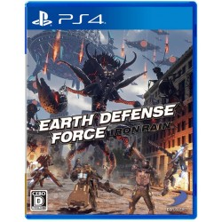 D3 PUBLISHER Earth Defense Force Iron Rain SONY PS4 PLAYSTATION 4