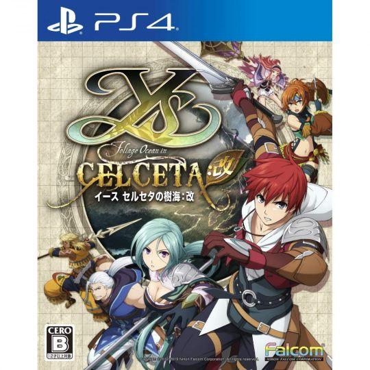 Falcom Ys Memories of Celceta  Kai SONY PS4 PLAYSTATION 4