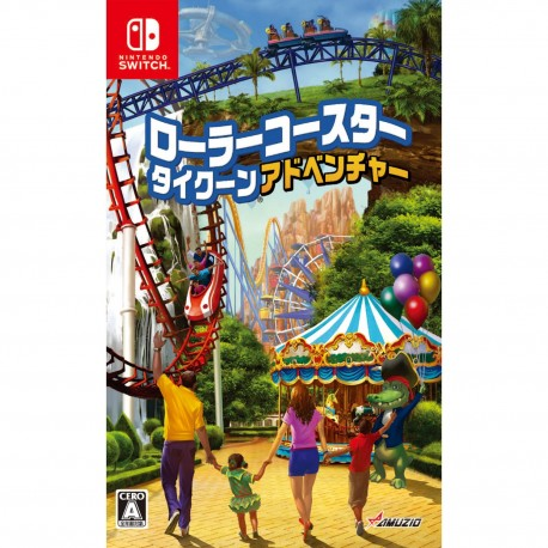 Oizumi Amuzio Roller Coaster Tycoon Adventures NINTENDO SWITCH