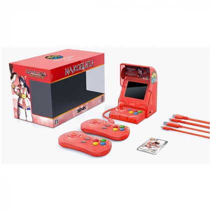SNK NEOGEO Mini Samurai Spirits Nakoruru Set Limited Edition