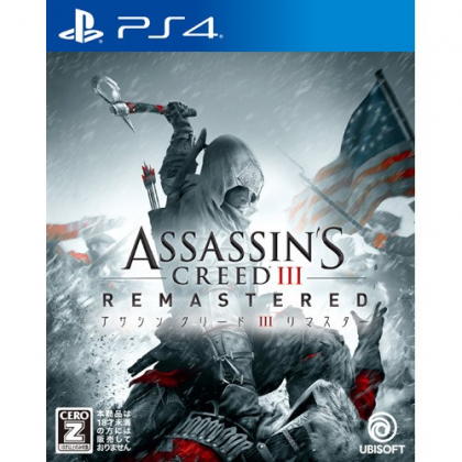 Ubisoft Assassin's Creed III Remastered SONY PS4 PLAYSTATION 4
