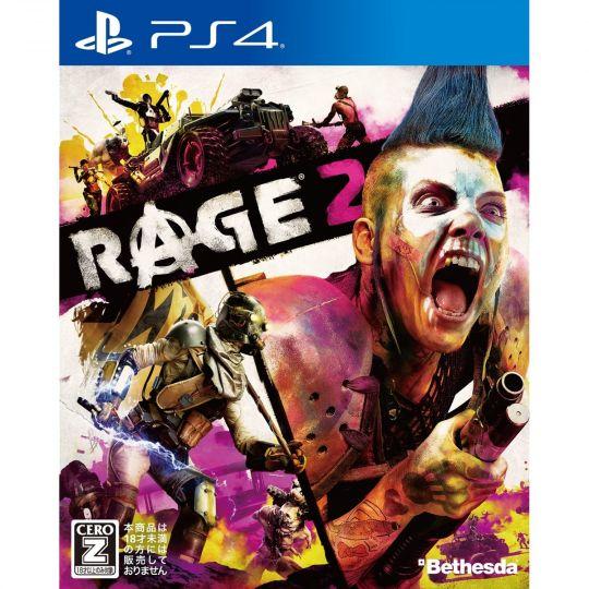 Bethesda Rage 2 SONY PS4 PLAYSTATION 4