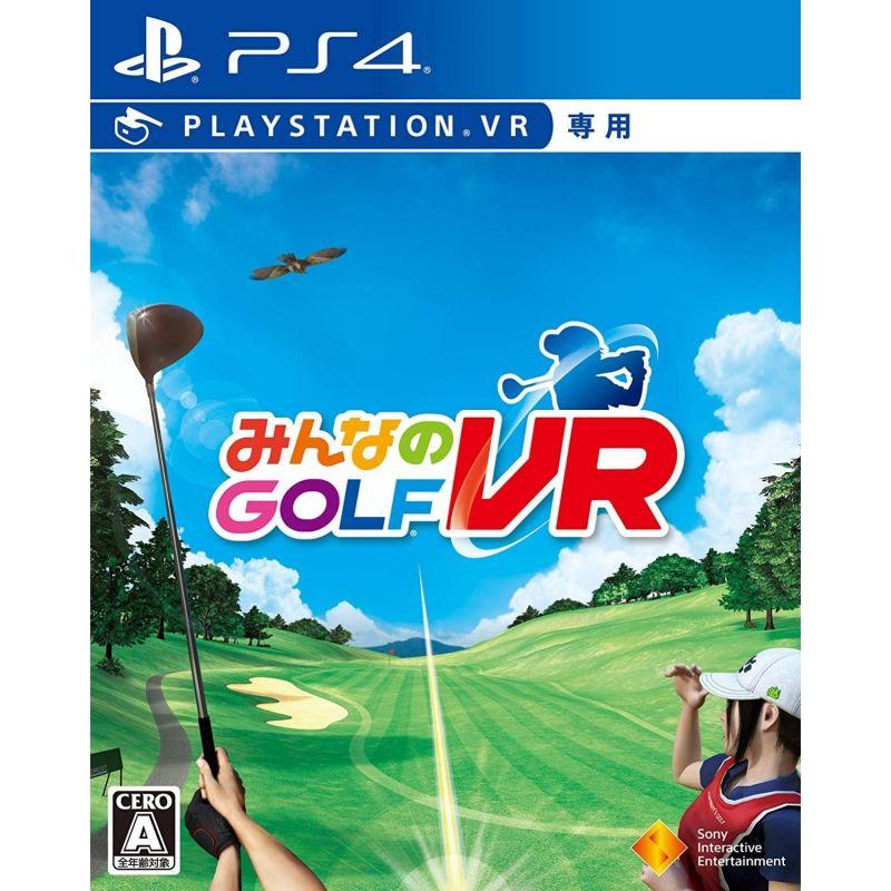 Minna no Golf VR SONY PS4 PLAYSTATION 4