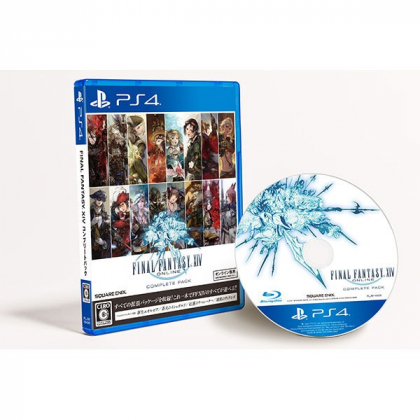 Square Enix Final Fantasy XIV Complete Pack  SONY PS4 PLAYSTATION 4