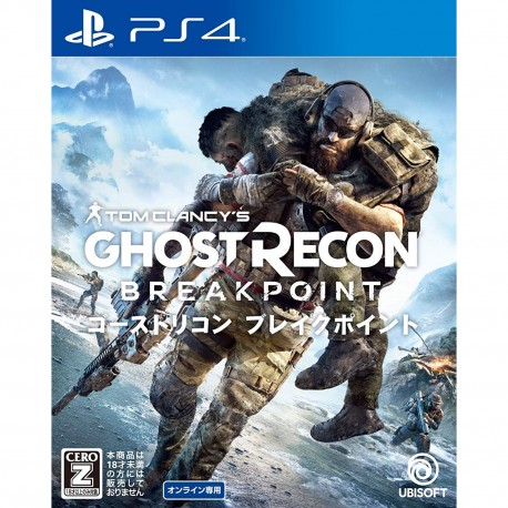 UBISOFT TOM CLANCY'S GHOST RECON BREAKPOINT SONY PS4 PLAYSTATION 4