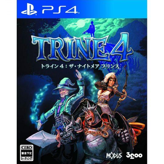 3GOO TRINE 4 THE NIGHTMARE PRINCE SONY PS4 PLAYSTATION 4