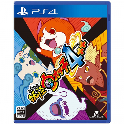 LEVEL 5 YOKAI WATCH 4++ SONY PS4