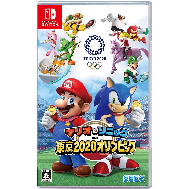 Sega Mario Sonic At The Olympic Games Tokyo 2020 Nintendo Switch Japanzon Com