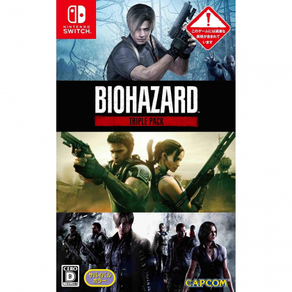 CAPCOM RESIDENT EVIL TRIPLE PACK NINTENDO SWITCH
