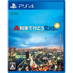 ARTDINK A TRAIN DE IKOU EXP+ SONY PS4 PLAYSTATION 4 REGION FREE JAPANESE VERSION
