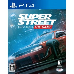 KEMCO SUPER STREET THE GAME SONY PS4 PLAYSTATION 4