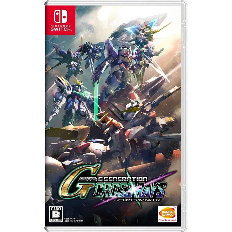 BANDAI NAMCO GAMES SD Gundam G Generation Cross Rays Multi-Language for NINTENDO SWITCH REGION FREE