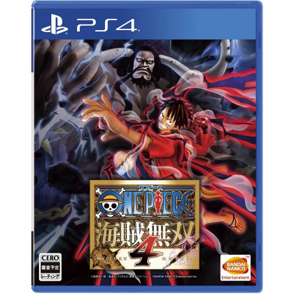 One Piece Pirate Warriors 4 PS4 PLAYSTATION 4