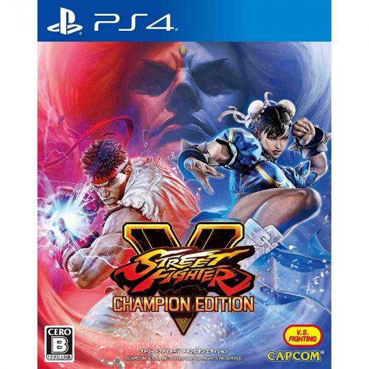 Capcom Street Fighter V Champion Edition SONY PS4 PLAYSTATION 4