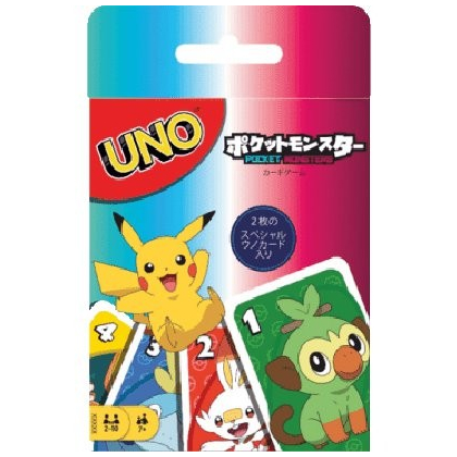 MATTEL - Card Game UNO Pokemon GNH17