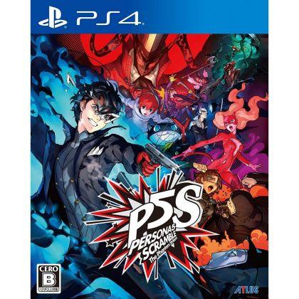 Atlus Persona 5 Scramble The Phantom Strikers SONY PS4 PLAYSTATION 4