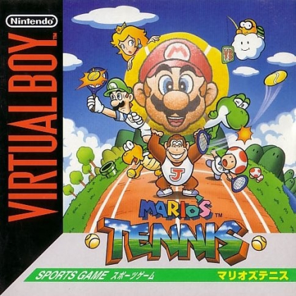 Mario Tennis Virtual Boy Nintendo