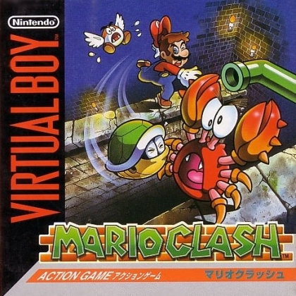 Mario Clash Virtual Boy Nintendo