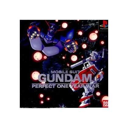 Bandai Mobile Suit Gundam Perfect One Year War Sony Playstation Ps one