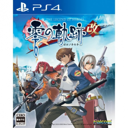 Falcom Eiyuu Densetu Zero no Kiseki Kai (The Legend of Heroes: Zero no Kiseki) Sony Playstation 4