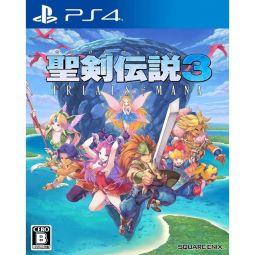Square Enix Seiken Densetu Trials of Mana Sony Playstation 4