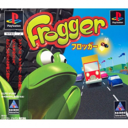 Hasbro Interactive Frogger Sony Playstation one