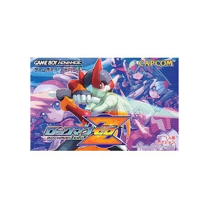 Capcom RockMan Zero Gameboy Advance GBA