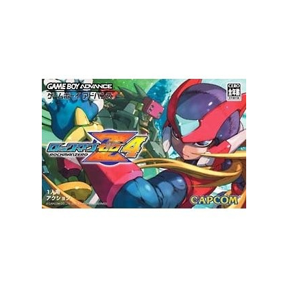 Capcom RockMan Zero 4 Gameboy Advance GBA
