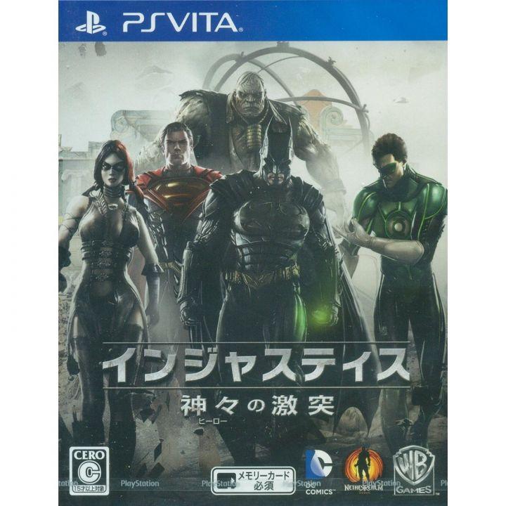 WARNER ENTERTAINMENT JAPAN Clash of Injustice Gods ( Hero ) PSVita