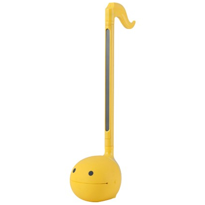 CUBE Otamatone Colors yellow [electronic musical instrument]