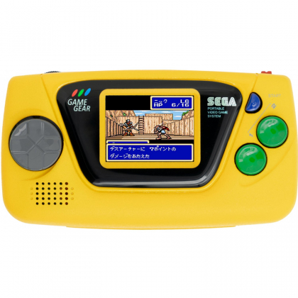 Sega Game Gear Micro (Yellow)