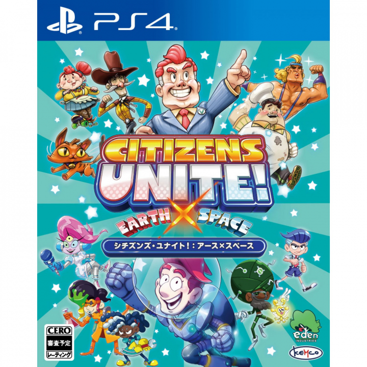 Kemco Citizens Unite! Earth x Space Playstation 4 PS4