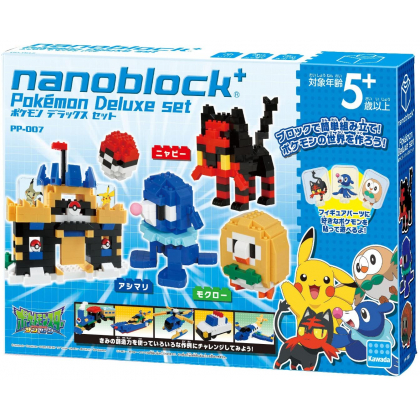 Nanoblock+ Pokemon Deluxe...