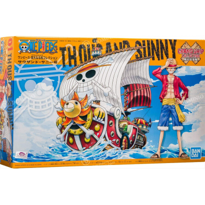 BANDAI ONE PIECE Grand Ship Collection - Thousand Sunny Plastic Model