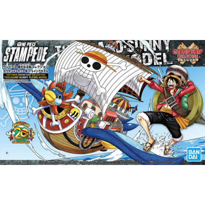 BANDAI ONE PIECE Grand Ship Collection - Thousand Sunny Flying Model Plastic Model