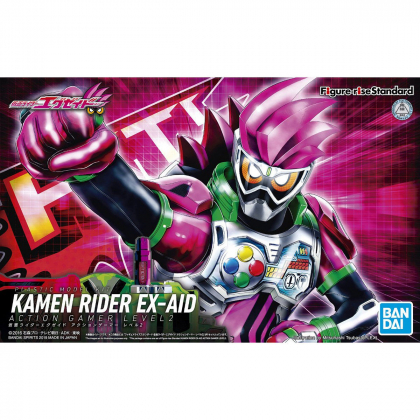 BANDAI Figure-Rise Standard Kamen Rider Ex-Aid Action Gamer Level 2 Plastic Model