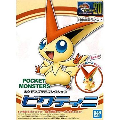 BANDAI Pokemon Plamo Collection First Series 20 Victini Plastic Model