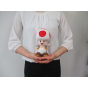 """Sanei Super Mario All Star Collection AC04 7.5"""" Toad Plush, Small"""
