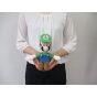 Sanei Super Mario All Star Collection AC02 Luigi Plush, Small