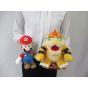 Sanei Super Mario All Star Collection AC10 Bowser Plush, Small