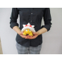 """Sanei Super Mario All Star Collection AC29 Spiny (Togezo) 4.5"""" Plush, Small"""