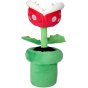 """Sanei Super Mario All Star Collection AC27 Piranha Plant 9"""" Plush, Small"""