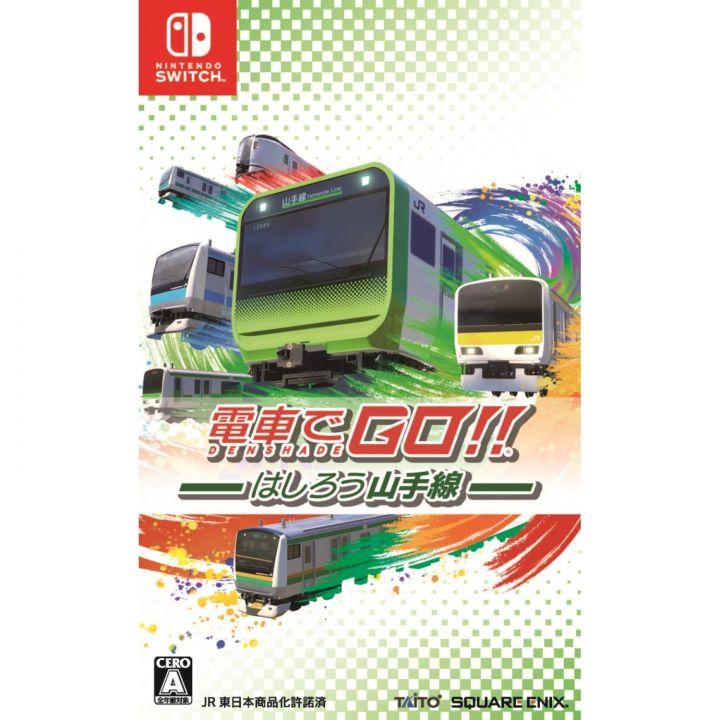 Taito SQUARE ENIX Densha de GO !! Hashiro Yamanote Line Nintendo Switch