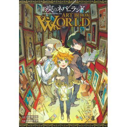 約束のネバーランド ART BOOK WORLD...