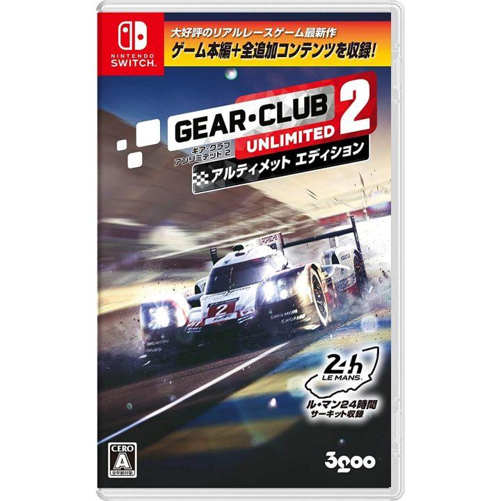 3goo Gear Club Unlimited 2 Nintendo Switch