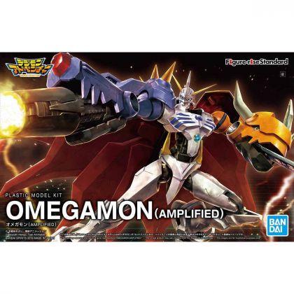 BANDAI Figure-rise Standard - Digimon - Omegamon (Amplified) Model Kit Figure