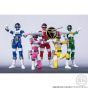 BANDAI SHODO SUPER - Super Sentai Hero Chodenshi Bioman Figure Set (Premium Bandai Limited)
