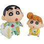 GOOD SMILE COMPANY Nendoroid - Crayon Shin-chan Nohara Shinnosuke Pyjama Ver. & Himawari Figure