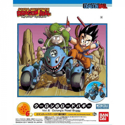 BANDAI Dragon Ball Mecha Colle vol.6 - Oolong's Road Buggy Figure Model Kit